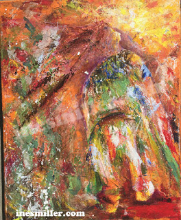 The Calling Acrylic Pallet Knife painting